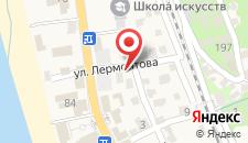 Мини-гостиница Анна на карте