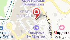 Гостиница Горки Город +960 на карте