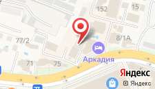 Гостиница Гала-Альпик на карте