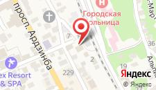 Гостевой дом Астра на карте