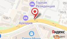 Апарт-отель Горная Резиденция на карте