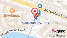 Курортный отель Горки Плаза на карте