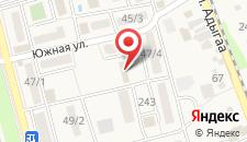 Гостиница Апсилаа на карте