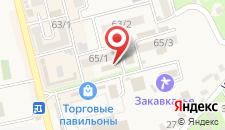 Гостевой дом Штиль на карте