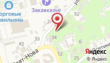 Гостиница Репруа на карте