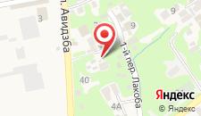 Гостевой дом Дода на карте