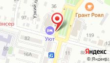 Мини-отель Уют на карте