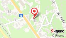 Гостевой дом на Демерджипа 57 на карте