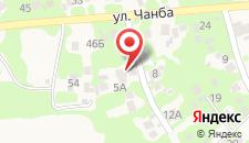 Мини-отель Гагра-Кемпинг на карте