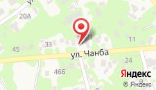 Гостевой дом На Чанба 4 на карте