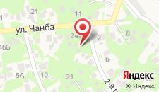 Гостевой дом На Чанба 5 на карте