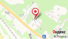 Гостевой дом В Гагре на карте