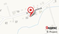Гостевой дом На Шаумана 6 на карте
