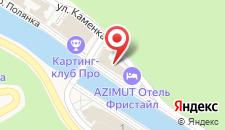 Отель Heliopark Freestyle Rosa Khutor на карте