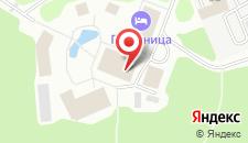 Гостиница Русская деревня на карте