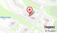 Апартаменты На Белоконской 14 на карте