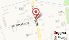Гостиница Глория на карте