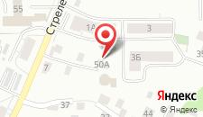 Апартаменты Стрелецкий на карте
