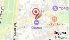 Мини-гостиница Орион на карте