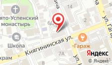 Апартаменты Исторический центр на Княгининской 6а на карте