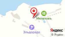 Загородный клуб Мелиховъ на карте