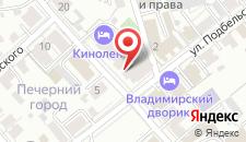 Гостиница-Хостел КИНОЛЕНТА на карте