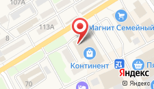 Отель Миллербург на карте