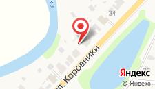 Гостевой дом Волна на карте