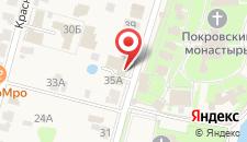Гостевой дом Трактир у Прокопа на карте