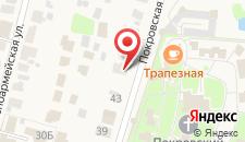 Гостевой дом На Покровской 45а на карте