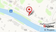Гостевой дом У Елены на карте