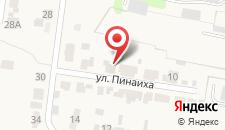 Гостевой дом Пинайха на карте