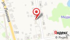 Апартаменты У Пенёчков на карте