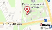 Гостиница Ризоположенская на карте