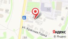 Гостевой дом У Кремля на карте