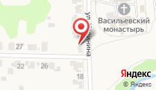 Гостевой дом Васильев Двор на карте