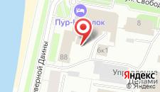 Отель Пур-Наволок на карте