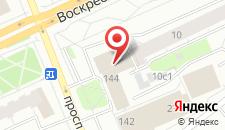 Бизнес-центр отель Зеленый на карте