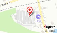 Отель Ной на карте
