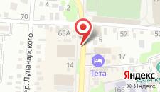 Отель Тета на карте