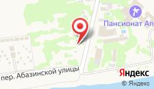 Гостевой дом На Абазинской на карте
