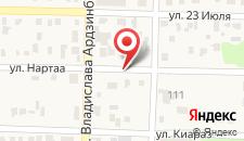 Гостевой дом Нартаа на карте