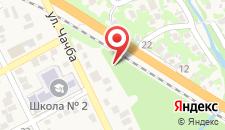 Загородный отель Чедия на карте