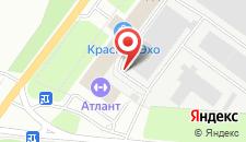 Гостиница Баринова роща на карте