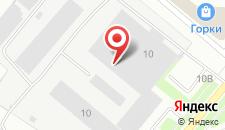 Гостиница Самоковская на карте