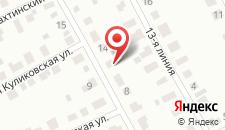 Гостиница Авокадо на карте