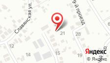Гостевой дом Анна на карте