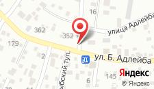 Гостевой дом Маяк на карте