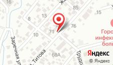 Гостевой дом Мандарин на Титова 85 на карте