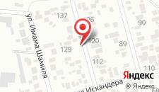 Отель Гостевой дом на карте